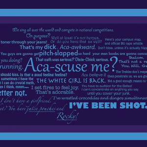 Pitch Perfect Quotes Poster - PURPLE | Poster