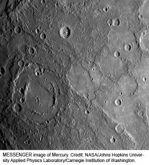 mercury planet surface