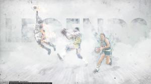 Magic Johnson, Larry Bird, Michael Jordan – 'Legends' (WALLPAPER ...