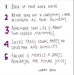 ... quotes Life Lessons Larry Bock Funny Quotes About Life Lessons