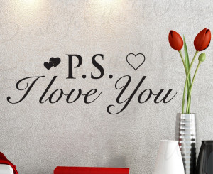 Love You Wall Quote Decal