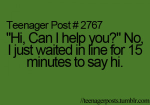 cashiers #funny #quotes #awkward moments #teenage posts