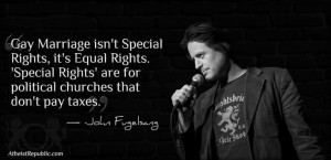 John Fugelsang on Gay Marriage