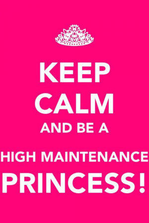 not high maintenance but I'm my daddy's princess! I'M So Fancy Quotes ...