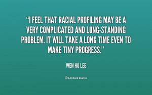 Racial Profiling Quotes
