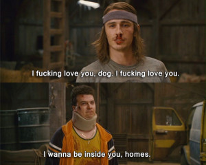 Saul Silver & Red's Emotional Homes Moment In Pineapple Express