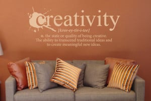 Creativity Definition. Right On the Walls (This is awesome, I really ...