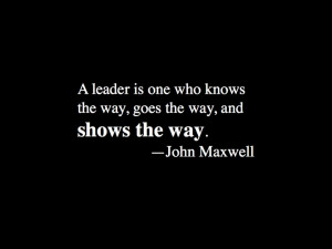John Maxwell #inspirational #quote on leadership