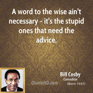 Bill Cosby Funny Quotes