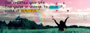 Color Your Life Facebook Covers