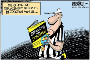 That's it! Everyone has had their say on the NFL replacement refs ...