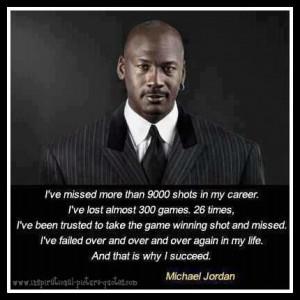 Michael Jordan Inspirational Quote