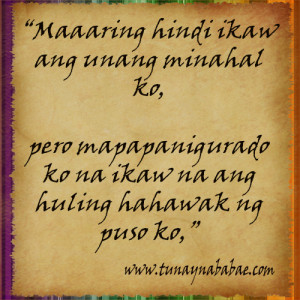 New Tagalog Quotes 2012