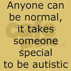 Autism Awareness I LOVE SOMEONE WITH AUTISM