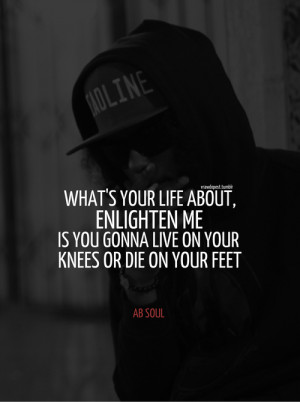 ab soul quotes