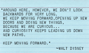 Moving Forward...