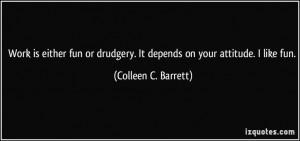 work attitude quotes