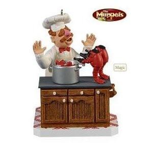 2009 Hallmark The Muppets - The Swedish Chef ornament