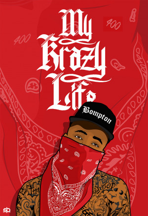 ... tweet yg my krazy life april 29 2014 illustration of compton rapper yg
