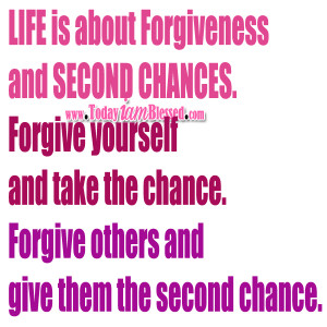 Nobody is perfect on earth. Forgive those who hurt you. The Scriptures ...