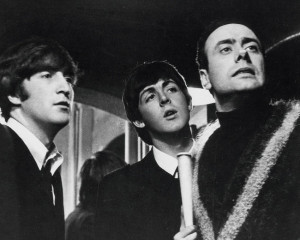 Victor Spinetti, John Lennon, Paul McCartney, A Hard Day's Night