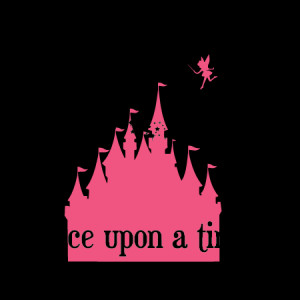 Fairytale Castle & Pixie-dust Wall Quotes™ Decal
