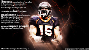 Football Quotes Wallpaper Tim tebow rb: jets coach says