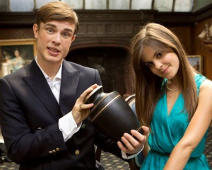 Ed Gamble and Amy Hoggart as George and Poppy Carleton in Almost Royal ...