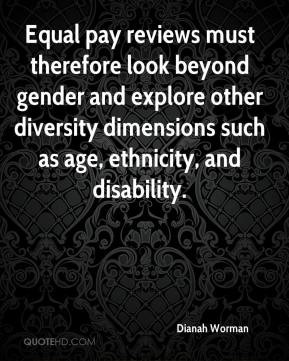 ... other diversity dimensions such as age, ethnicity, and disability