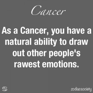 Cancers can leave (effortlessly and in most instances, unconsciously ...
