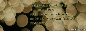 Andy Mineo Quotes Be light - andy mineo .