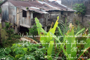 Friendly Pictures Quotes Eco friendly quote suess