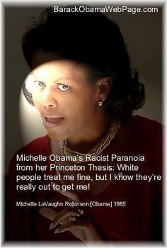 michelle obama racist thesis Is it true that michelle obamas college thesis was racist if so, why  was michelle obama's college thesis racist towards whites.