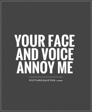 people annoy me quotes