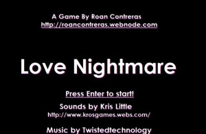 Screenshots For Love Nightmare