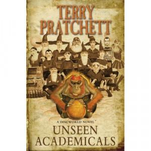 Unseen Academicals - new Terry Pratchett cover