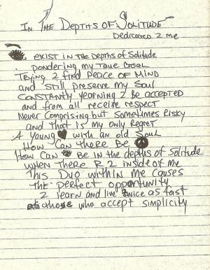 tupac love poems