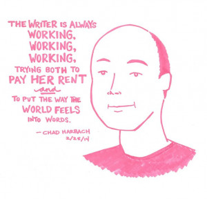 Chad Harbach at Housing Works Bookstore, 2/25/14
