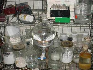 of a crystal methamphetamine lab in New York. Users of crystal meth ...