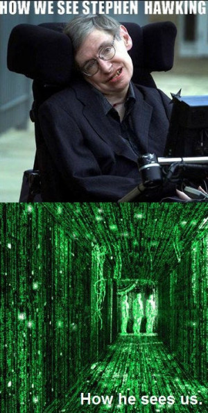 Stephen Hawking vision