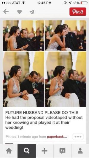 Dear future husband...please do this!