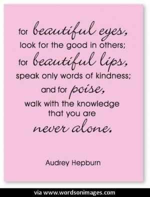 Quotes by audrey hepburn