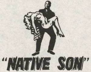 Detail from insert of pressbook for Native Son .