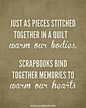 Scrapbook Quotes And Sayings