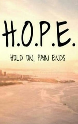 cute, hope, hope ist there, love, pretty, quote, quotes