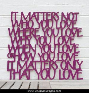 Beatles love quot...