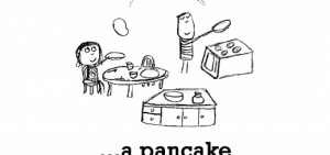 Happiness is, a pancake breakfast.