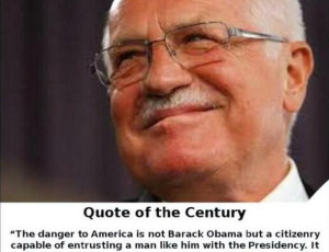 Claim: Former Czech president Václav Klaus called the American people ...