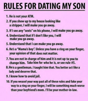 Mothers of sons have their issues