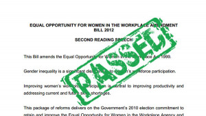 enacted into the Parliament, mainly to address the issue with gender ...